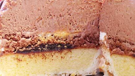 トナカイのケーキの中身