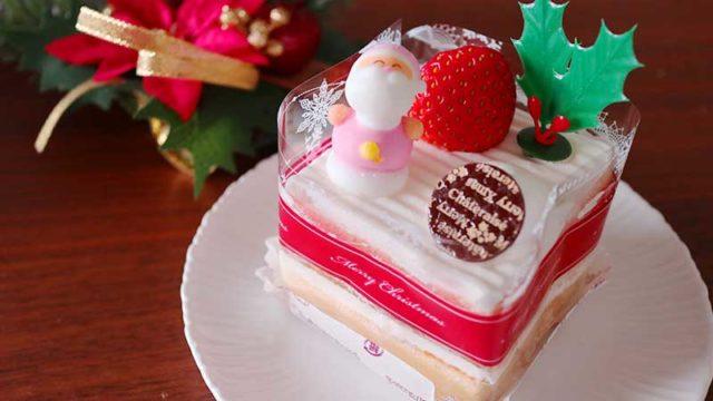 バニラのクリスマスケーキ