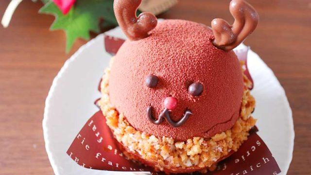 トナカイのケーキ