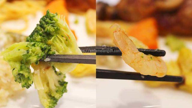 ナッシュ「ハンバーグと温野菜のデミ」ブロッコリー