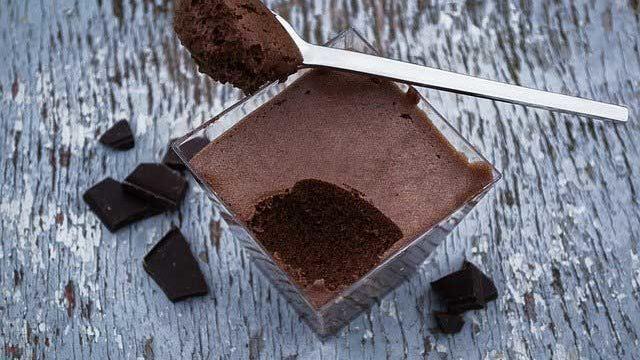 チョコレートムースwithラテ