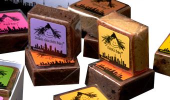 『ファットウイッチベーカリー』のブラウニーの包装