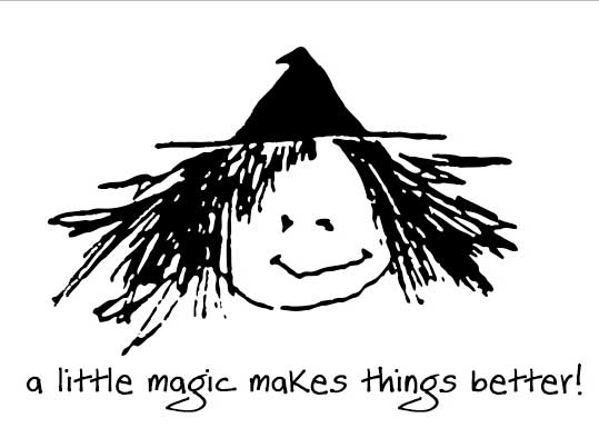 『ファットウイッチベーカリー』の魔女のイラスト