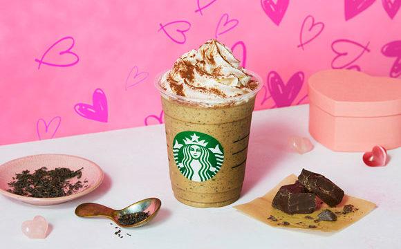 スタバ新作『チョコレートwithミルクティー フラペチーノ』の糖質は